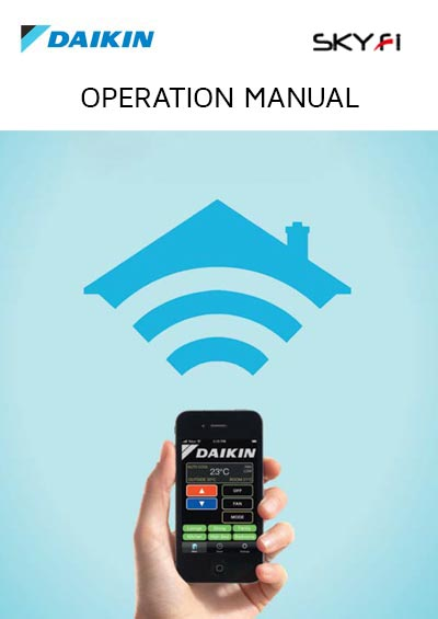 Daikin Skyfi Operation Manual