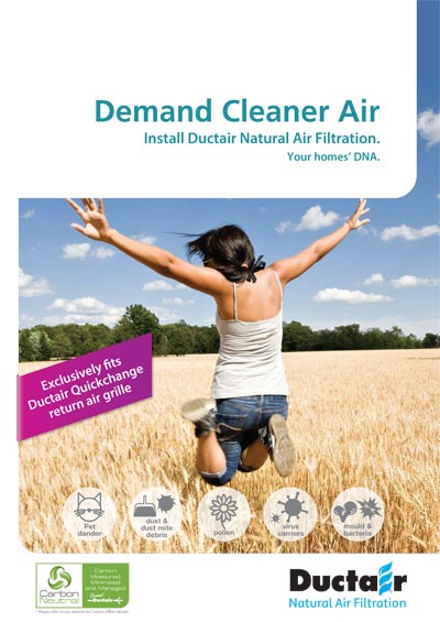 Ductair Natural Air Filtration