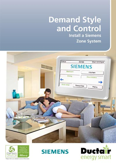 Ductair Siemens Zone Control