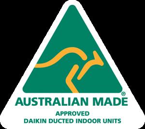 Daikin and Australian Made Logo